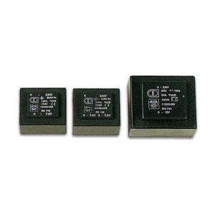 Perel Transformateur moule 3va 2 x 12v / 2 x 0.125a