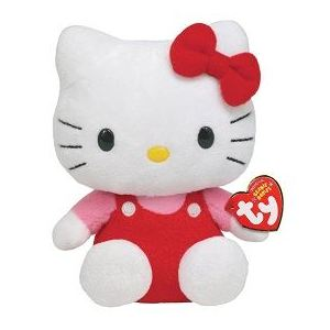 Ty Hello Kitty Rouge 15 cm