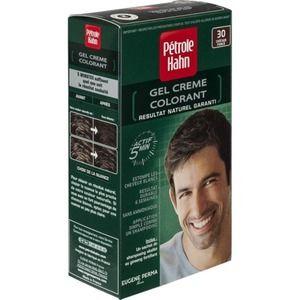 Pétrole Hahn Coloration crème Châtain Foncé N°30 pour homme