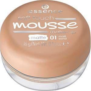 Essence Soft touch mousse - Make-up 02 matt beige