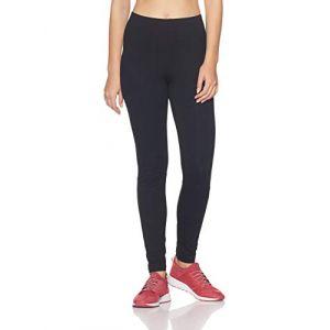 Adidas S97155 Leggings de Sport Femme, Noir/Blanc, FR : S (Taille Fabricant : S)