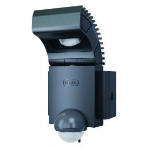 Osram NOXLITE - Spot d'extérieur LED Chaud avec Détecteur Gris H17cm - Luminaire d'extérieur designé par