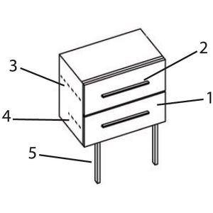 Inve REVAPEPGUI27 - Glissière tiroir PEP'S 27cm
