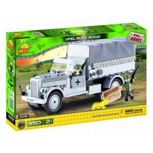 Cobi 2449 - Small Army : Camion Opel Blitz 350 pièces