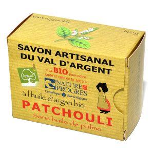 Argasol Savon bio Patchouli 140g
