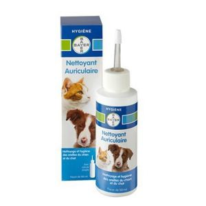 Bayer Nettoyant auriculaire chiens et chats 100ml