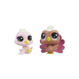 Hasbro Littlest PetShop - Pack de 2 PetShop Collection Sucrée (E1074)