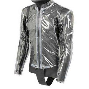Dainese Vestes Rain Body Racing D1 Jacket - Transparent-Black - Taille XL