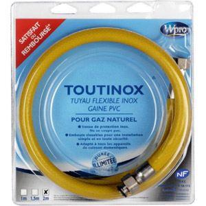 Wpro TNE 200 - Flexible inox pour gaz naturel