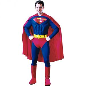 Rubie's Déguisement Superman Luxe torse 3D (taille au choix)
