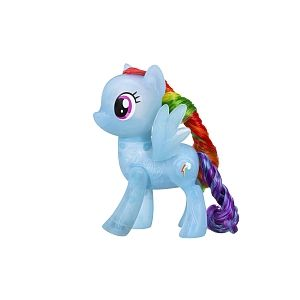 Hasbro My Little Pony - Poney Lumineux Interactif - Rainbow Dash