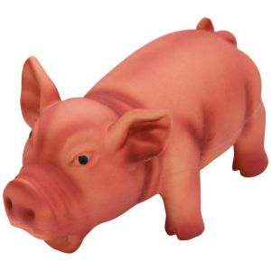 Kerbl Jouet Cochon Latex Avec Son 250 Gr