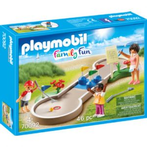 Playmobil 70092 - Mini-golf Family Fun
