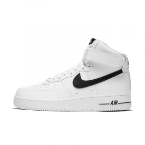 Nike Chaussure Air Force 1 High'07 pour Homme - Blanc - Taille 43 - Male