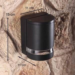 Lutec Belle applique design Focus, anthracite, 1 ampoule