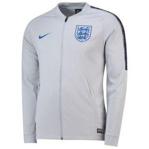 Nike Veste de survêtement England Dri-FIT Squad pour Homme - Gris - Taille L - Male