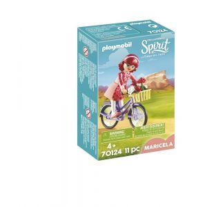 Playmobil Spirit 70124 Maricela et bicyclette