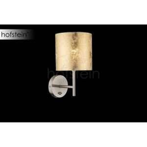 Globo Lighting Applique luminaire mat - Tissu doré - Interrupteur - 15 x26 cm - 40W - 230V - Applique luminaire mat - Tissu doré - Interrupteur - 15 x26 cm - E14 - 40W - 230V