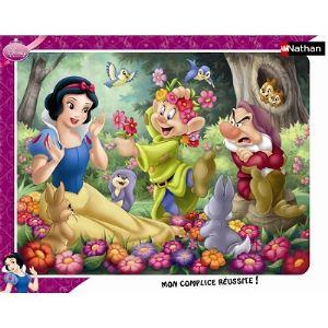 Nathan Puzzle Blanche-Neige en Fleur 35 pièces