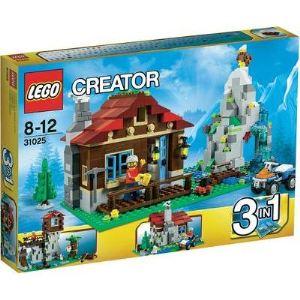 Lego 31025 - Creator 3 en 1 : Le refuge de montagne