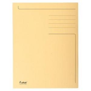Exacompta 449002E - Chemise FOREVER Folio imprimée 3 rabats, coloris bulle