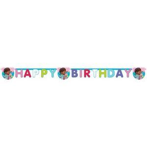 "Guirlande ""Happy Birthday"" Docteur la Peluche"