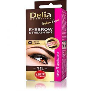 Delia Cosmetics Henna Gel 3.0 Dark Brown 15ml