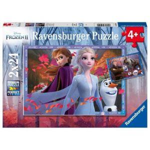 Ravensburger Puzzle 2x24 pièces La Reine des Neiges 2