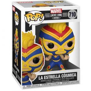 Funko Figurine Pop Marvel Luchadores Captain Marvel