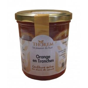 Thorem Confiture d'Orange en tranches, pot 375 gr