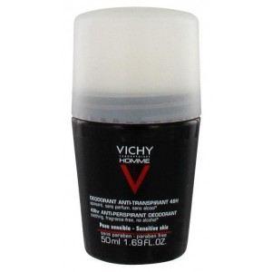 Vichy Déodorant anti-transpirant 48H peau sensible pour homme