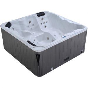 Water'clip Spa jacuzzi carré 3 places Luxa