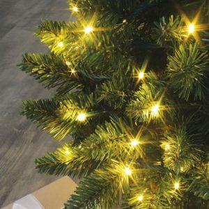 Blachère illumination Guirlande lumineuse Flicker 25 mètres blanche