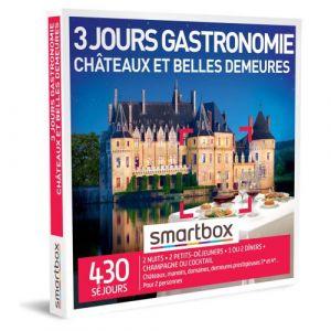 Smartbox Coffret cadeau 3 jours gastronomie châteaux et belles demeures