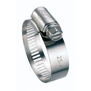 Cap Vert Collier à bande inox - Diamètre 32 - 52 mm - Largeur 13 mm - Vendu par 2 - CAPVERT