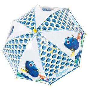 Parapluie Disney Pixar LE MONDE DE DORY cloche transparente pour enfant avec l'ouverture securisée - Disney