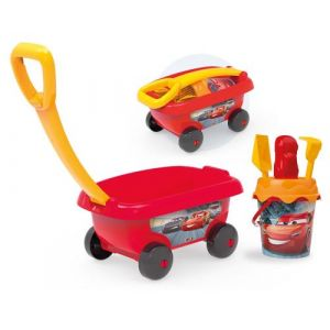 Smoby Chariot de plage garni Cars