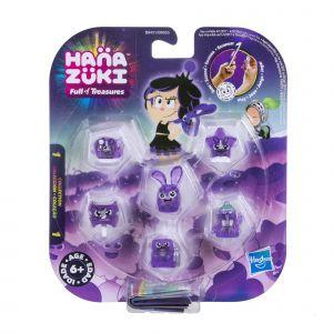 Hasbro Pack Hanazuki 5 trésors + 1 Hemka Violet