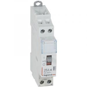 Legrand Contacteur de puissance silencieux bobine 230 V~ - 2P - 250 V~/25 A - 2F