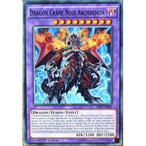 Konami Ldk2-Frj42 - Carte Yu-Gi-Oh Dragon Crâne Noir Archdémon Fr