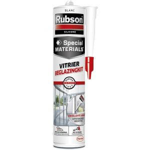 Rubson Mastic vitrier blanc 280ml