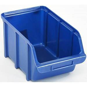 Raaco Bac à Bec 4 litres en polypropylène bleu,