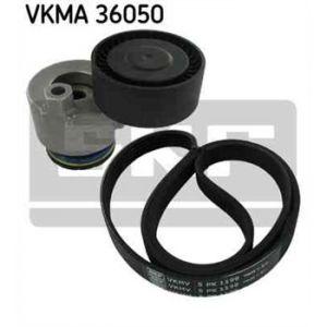 SKF Kit de courroies d'accessoires VKMA36050