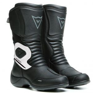 Dainese Bottes Aurora D-wp - Black / White - Taille EU 42
