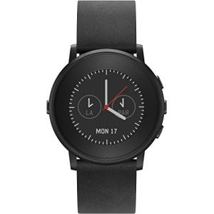 Pebble Time Round 20 mm - Montre connectée Bluetooth (IOS,Android)