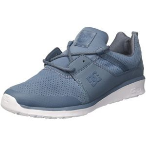 DC Shoes Heathrow, Baskets Homme, Bleu (Blue Ashes/White 4AW), 41 EU