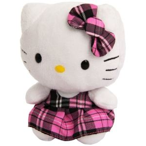 Ty Beanie Babies : Hello Kitty Tartan 15 cm