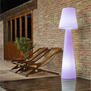 New Garden Lampadaire extérieur Lola, H 110 cm, LED intégrée, couleur changeante