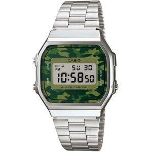 Image de Casio A168WEC - Montre mixte avec bracelet en acier