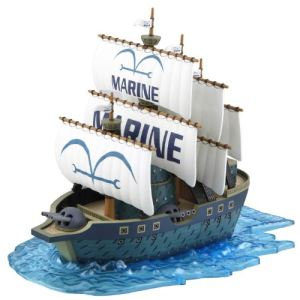 Bandai Bateau pirate One Piece Collection Navy Warship